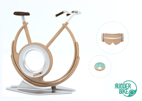 Rudder Bike – «New virtual ride»